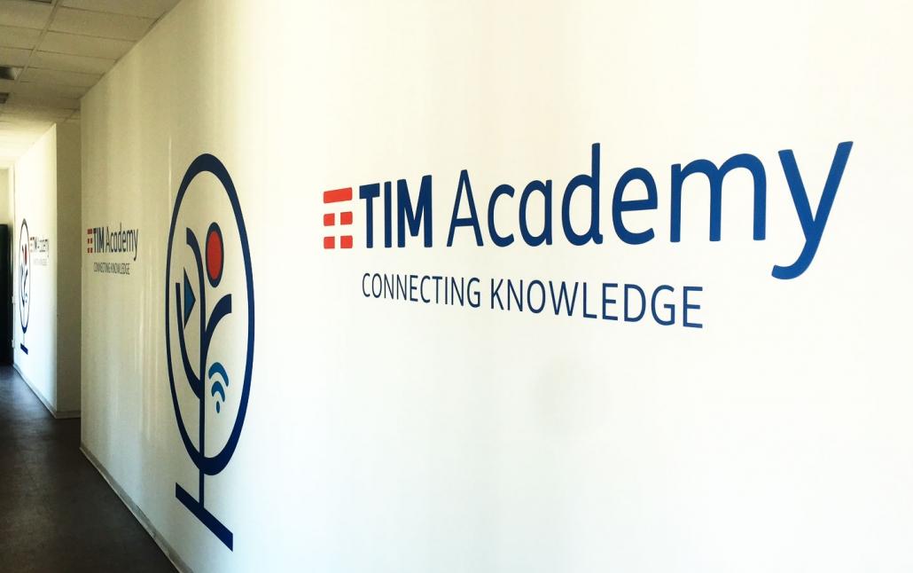 Allestimento Tim Accademy