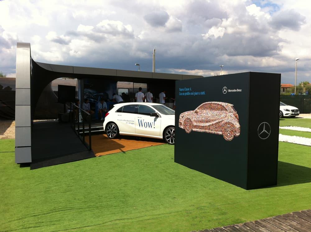 Corner Mercedes