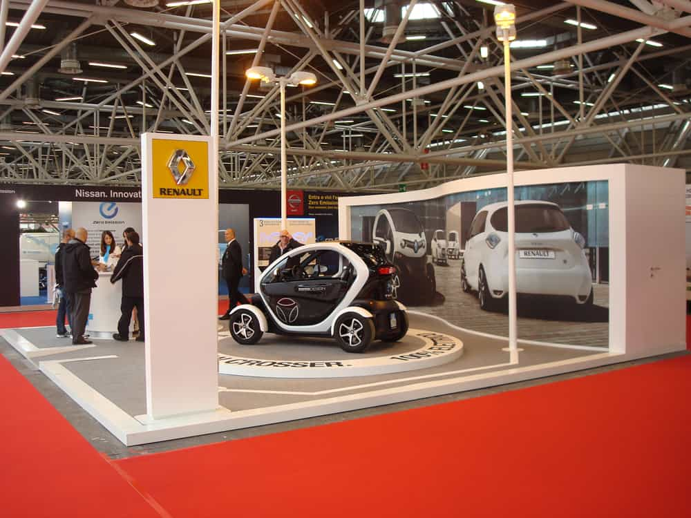 Stand Renault Twizzy