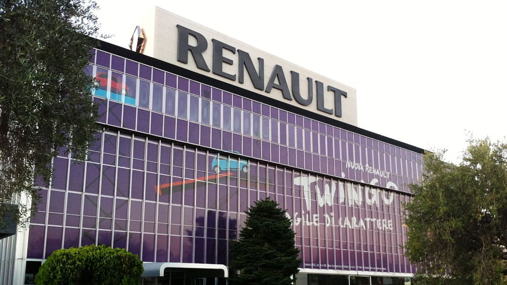 Facciata Palazzo Renault