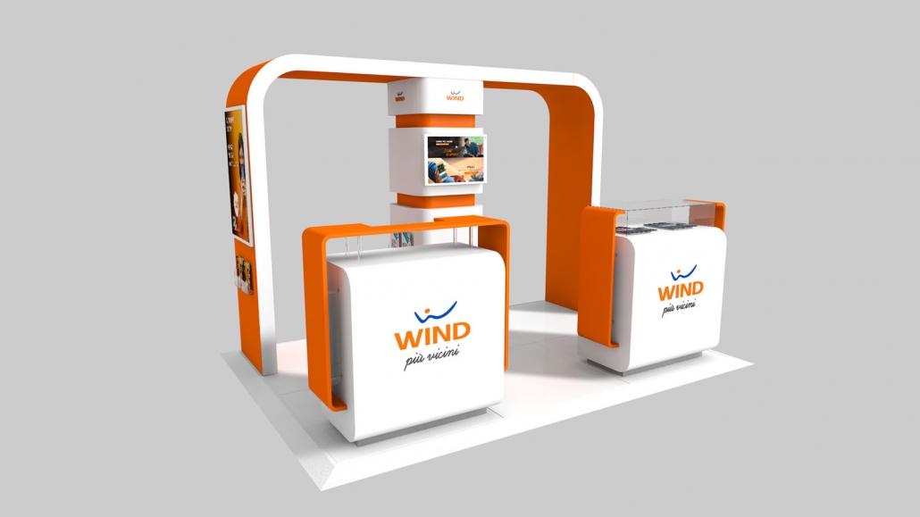 Progettazione 3D Negozio-Wind