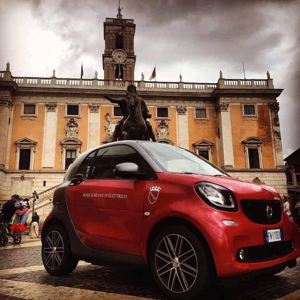 Decorazione Smart Sindaco di Roma